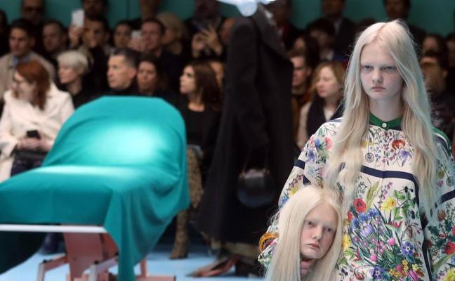 Así fue el desfile más 'terrorífico' de Gucci