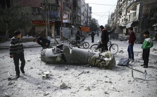 La negociación en la ONU de un alto el fuego no detiene los bombardeos en Guta