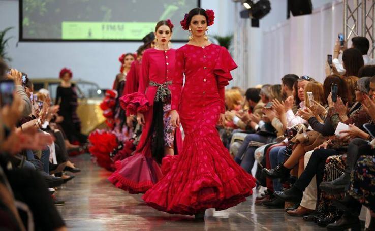 Fotos del desfile inaugural de la Feria Internacional de Moda Flamenca en Málaga (FIMAF)