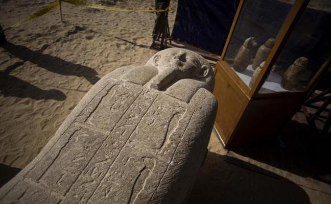 Descubren un cementerio de sacerdotes del siglo IV a.C. en el valle del Nilo