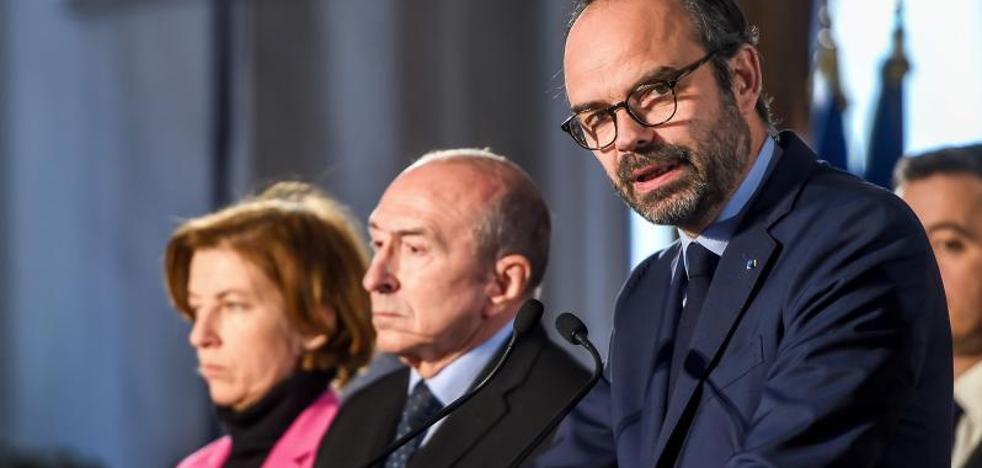 El Gobierno francés dice haber abortado dos proyectos de atentados este año