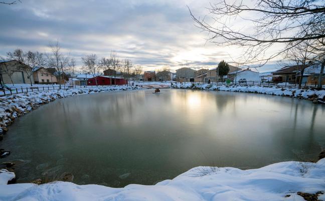 La última semana de febrero llega con nieve y desplome de las temperaturas