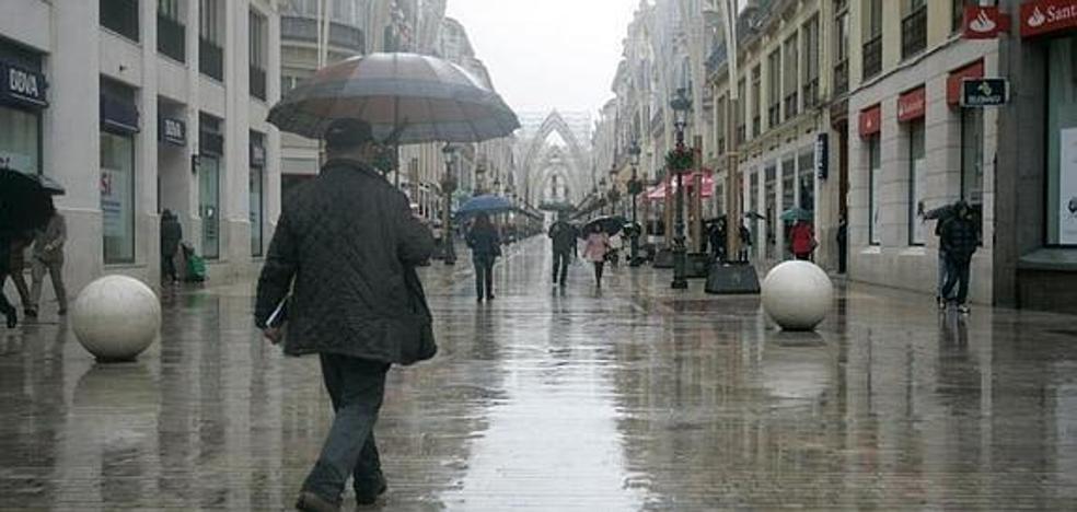 Previsión de lluvias durante la Semana Blanca: ¿Qué día lloverá más en Málaga?