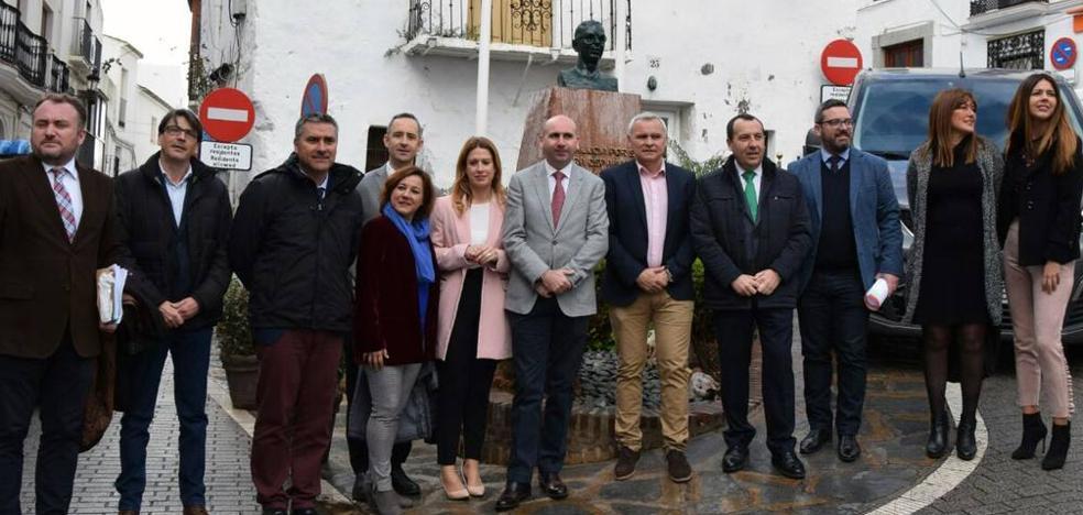 El PSOE en la Diputación celebra el 28F reivindicando la figura de Blas Infante