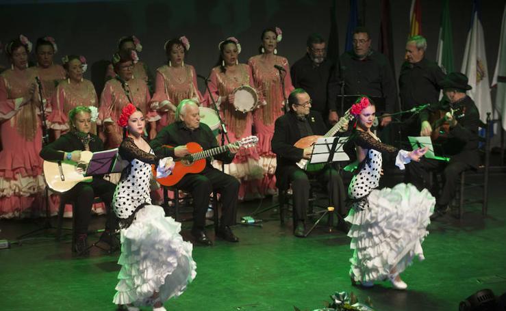 La Federación Malagueña de Peñas celebra el Día de Andalucía