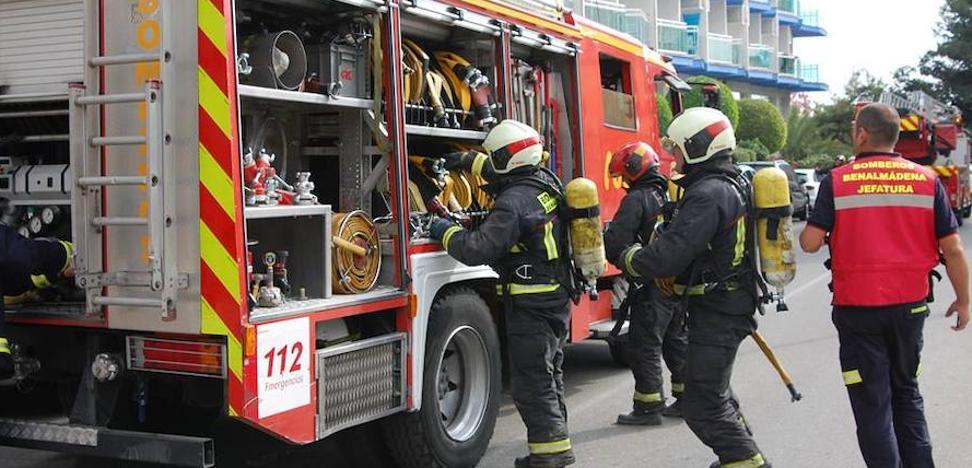 Bomberos de Benalmádena alertan sobre la falta «acusada» de personal