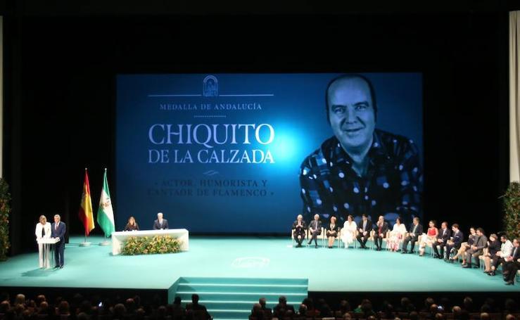 En fotos, la entrega de Medallas de Andalucía por el 28-F