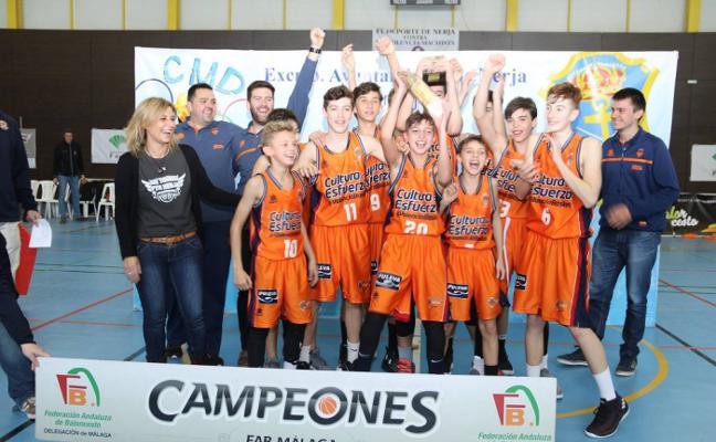 El Valencia se lleva el Torneo FYM preinfantil disputado en Nerja