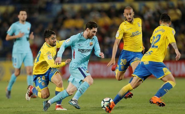 Las Palmas agita la Liga