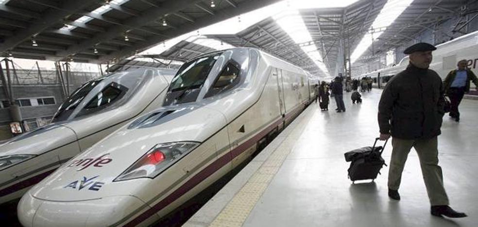 Una avería causa retrasos en el AVE de las 12.05 a Madrid