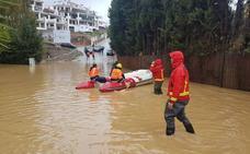 Los embalses de Málaga ya captan agua para más de seis meses y seguirán aumentando