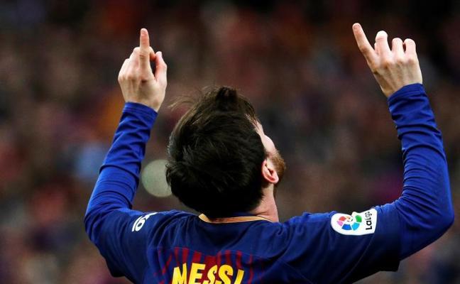 Messi embruja la Liga