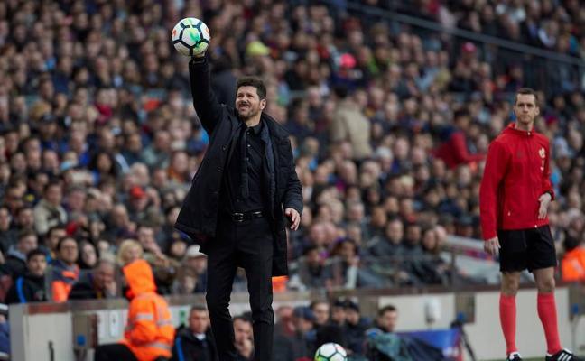 Simeone: «Si le ponemos la camiseta a Messi, posiblemente hubiéramos ganado»