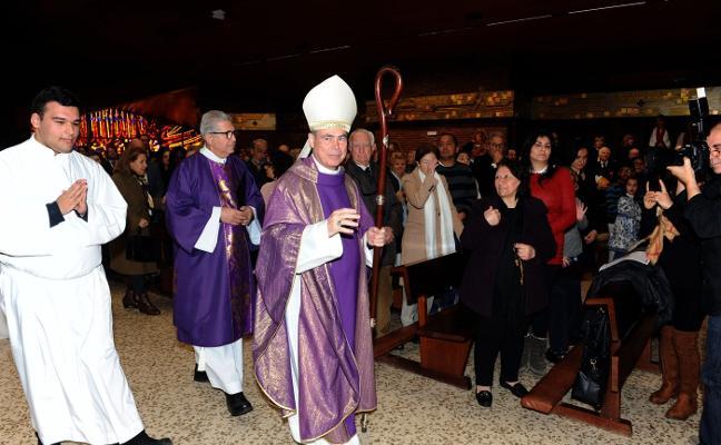 Nueva iluminación en la iglesia del Calvario