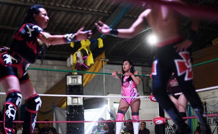 Guerra de sexos sobre el ring