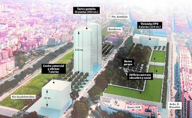 La promotora de Martiricos proyecta un centro comercial frente a La Rosaleda