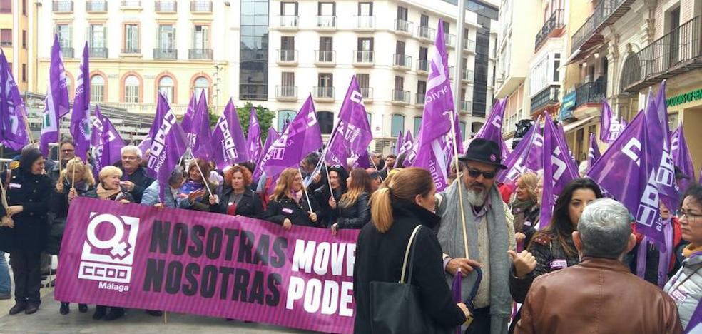 CCOO calienta motores para la huelga feminista del jueves