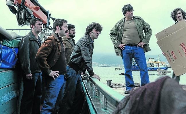Hablan los responsables de la adaptación televisiva de 'Fariña': «Nos quedamos cortos»