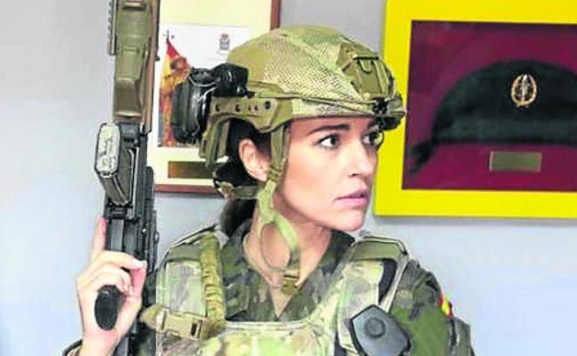 Paula Echevarría, en pie de guerra