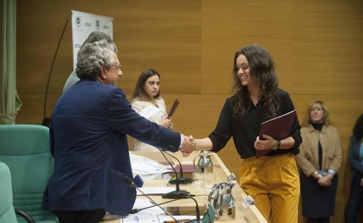 Fotos de la entrega de diplomas a los más destacados de la UMA