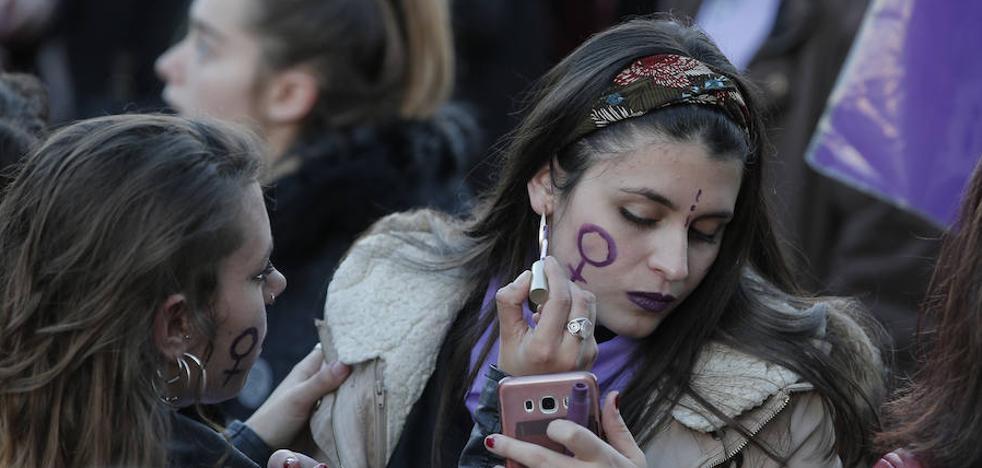 Todas las fotos de la jornada del 8M en Málaga