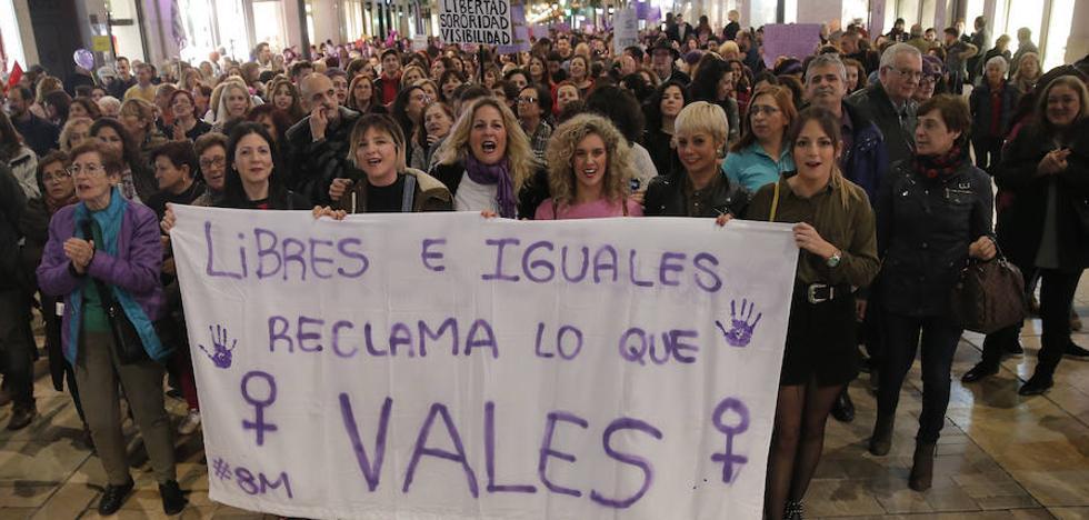 Todos los vídeos del 8M en Málaga