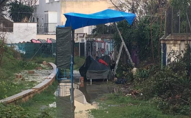 La lluvia obliga a la Prohermandad de la Virgen del Sol a cambiar su lugar de salida