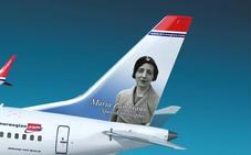 La aerolínea Norwegian dedica un avión a la pensadora veleña María Zambrano