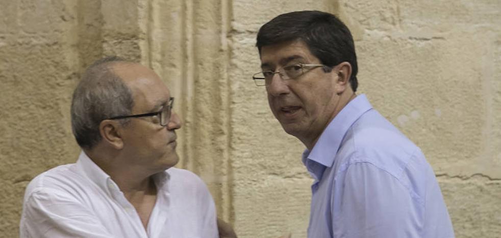 Marín asegura que Cs no se sumará al acuerdo parlamentario andaluz sobre financiación