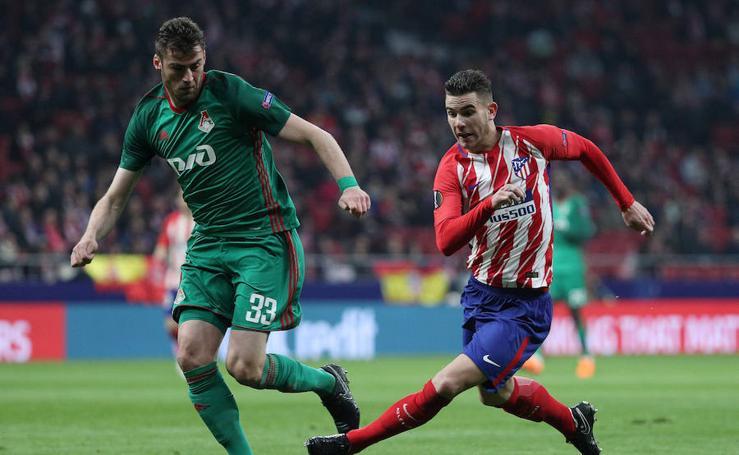 Las mejores imágenes del Atlético-Lokomotiv