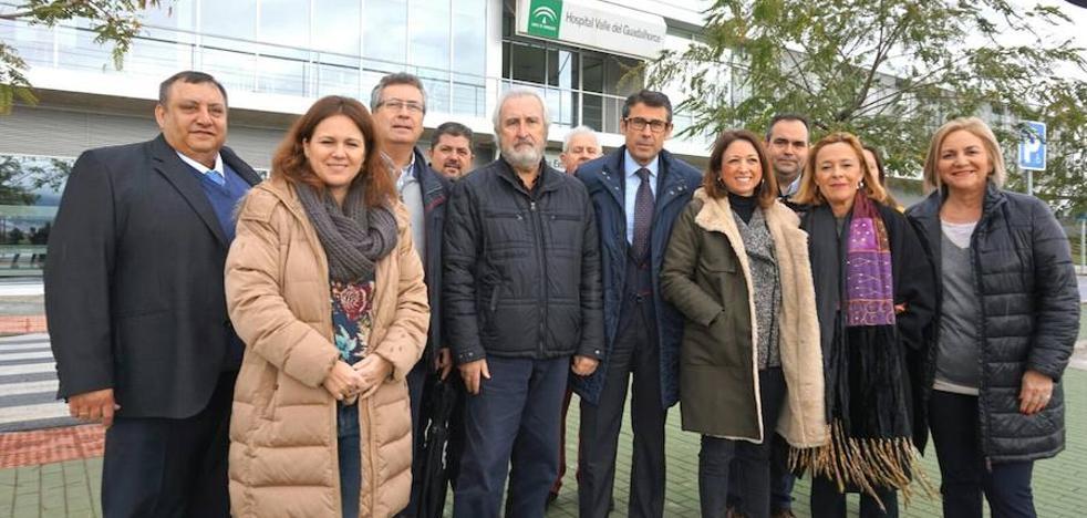 Cártama recibe todos los informes para tramitar la línea eléctrica del hospital