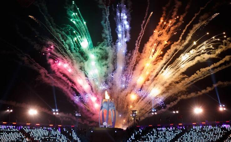 Inauguración de los Juegos Paralímpicos de Invierno