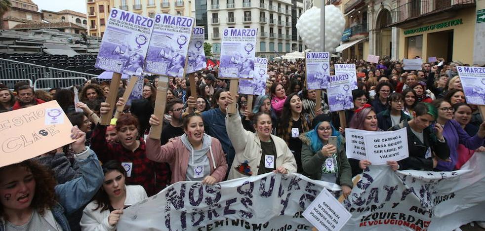 Así discurrió la mañana del 8M en Málaga y provincia