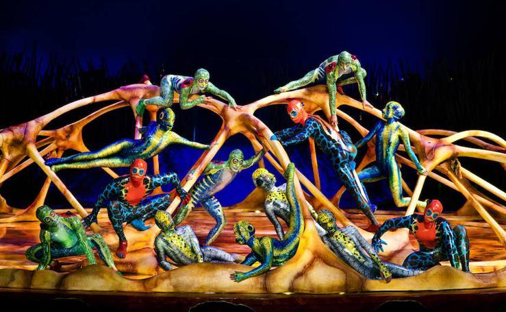 Fotos de 'Tótem', el nuevo espectáculo de Circo del Sol que vendrá a Málaga