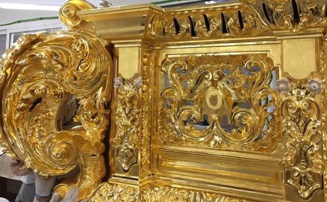 Se pospone la presentación del nuevo trono de la Paloma