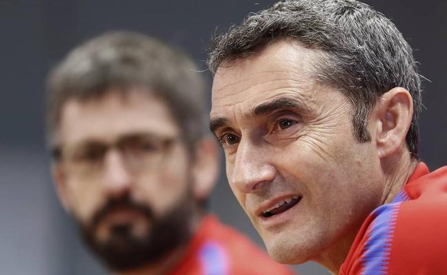 Valverde: «No me creo que el Atlético se entregue, y ellos tampoco»