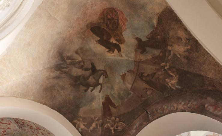 Así es la rehabilitación interior de la iglesia de la Divina Pastora