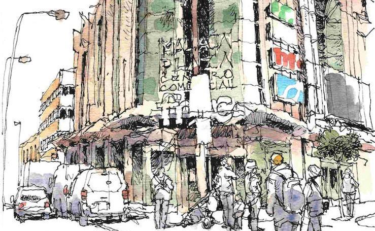 Málaga a trazos: Málaga Plaza