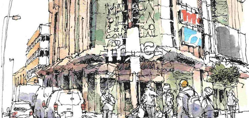 Málaga Plaza: Mascarón de proa