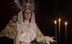La Virgen de Dolores y Esperanza de Málaga luce una nueva policromía