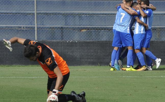 El Malagueño se impone en el derbi al Vélez con buen juego y acierto goleador
