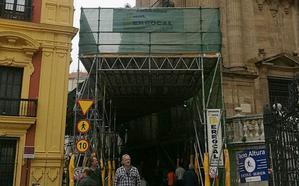Mantenimiento de las fachadas de la Catedral