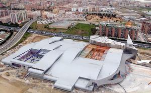 El Ayuntamiento de Málaga enfría ahora la ampliación del Palacio de Ferias