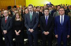 El Rey guarda un minuto de silencio en homenaje al pequeño Gabriel en Sevilla