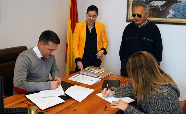 Firman la cesión del local para ampliar el consultorio de El Morche