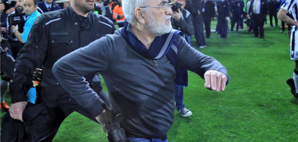 Suspendida la liga griega por la ola de violencia