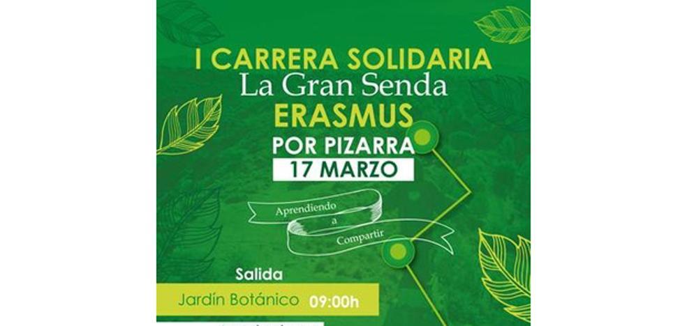 I Carrera Solidaria 'La Gran Senda Erasmus' en Pizarra