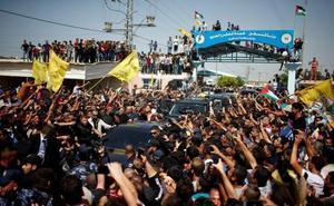 El primer ministro palestino, ileso tras sufrir un ataque en su visita a la Franja de Gaza
