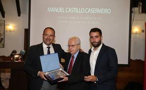 Honores al maestro Manuel Castillo Casermeiro