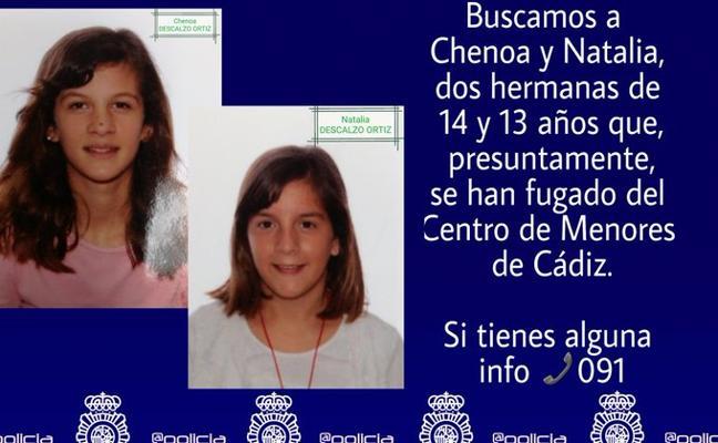 Buscan a dos hermanas de 13 y 14 años desaparecidas hace más de un mes de un centro de menores de Cádiz